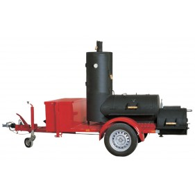 20 Chuckwagon Catering Smoker Trailer