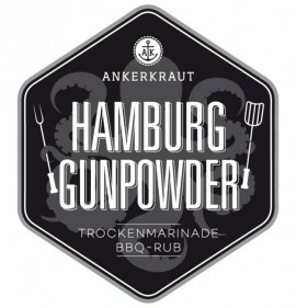 Ankerkraut Hamburg Gunpowder, BBQ-Rub