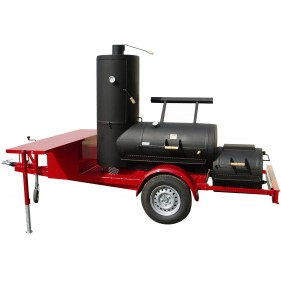 24 Chuckwagon Catering Smoker Trailer