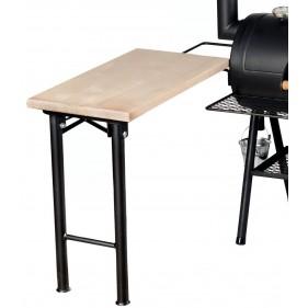 Seitentisch mit massiver Holzplatte für 16 Tradition