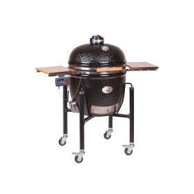 MONOLITH LeChef black BBQ Guru Edition inkl. Gestell