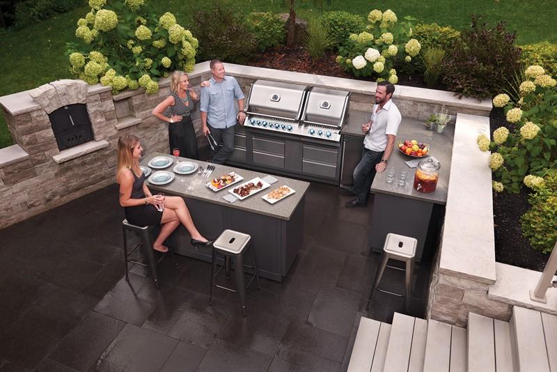 Outdoor Küchen Unterschrank : Napoleon oasis grill kopf unterschrank für bipro665 outdoorküchen
