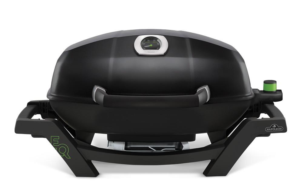 napoleon travelq pro285 elektrogrill schwarz mit hohem deckel. Black Bedroom Furniture Sets. Home Design Ideas