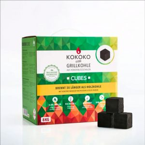 Mc Brikett Kokoko Cubes | Dutch Oven Kohle | 8 kg