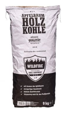 Wildfire Holzkohle vom Apfelbaum | 9 kg