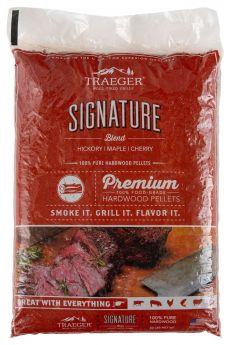 Traeger Hartholz Pellets | SIGNATURE BLEND | 9 kg