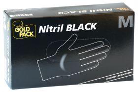 Delta Einmal Handschuhe schwarz Medium