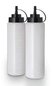 Napoleon Kunststoff-Quetschflasche, groß, 2er Set