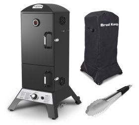 Broil King Vertical Gas Smoker | Angebot: inkl. Abdeckhaube und Grillzange
