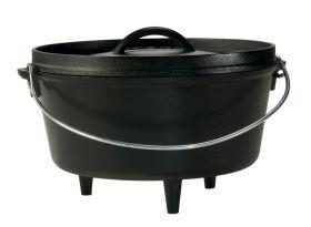 Lodge Camp Dutch Oven (tief), Topf mit Füßen incl. Deckel,