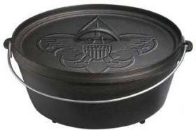 Lodge Camp Dutch Oven, mit Boy Scout Logo, ca. 30,5 cm Durchmesser