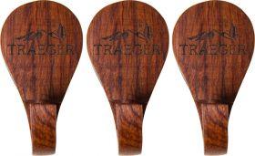 Traeger Magnethacken aus Holz