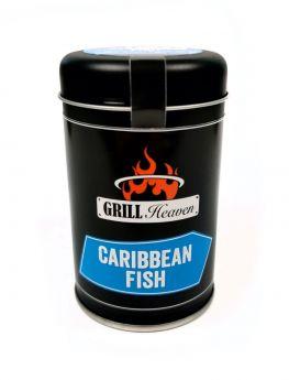 Barbecue-for-Champions - Caribbean Fish - Karibisches Fischgewürz- 110g Streudose
