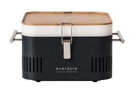 Everdure Cube, Tragbarer Holzkohlegrill, Graphit