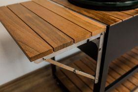 Klappbarer Anstecktisch für Grillzimmer Außenküchenmodul