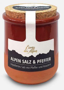 Essenz der Alpen | Alpen Salz & Pfeffer | 100g