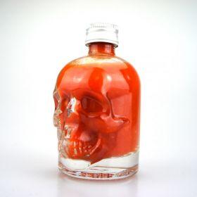 "Fireland Foods End Of Sanity ""Carolina Reaper"" Hot-Sauce in Totenkopf-Flasche 50ml"