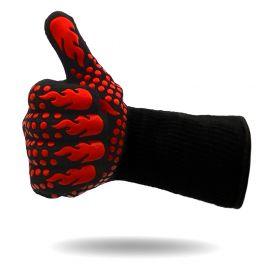 FireRocket Grillhandschuhe Paar |Aramid | Rot