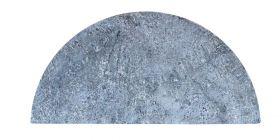 Kamado Joe Half Moon Soapstone - Big Joe