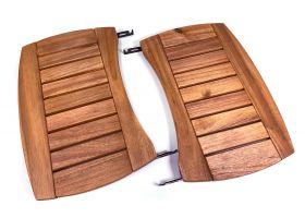 BGE Seitentische aus Akazienholz XLarge