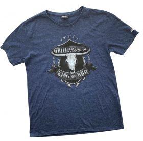 Grill Heaven - King of BBQ T-Shirt XXL