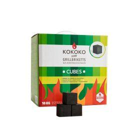 Mc Brikett Kokoko Cubes | Dutch Oven Kohle | 10 kg