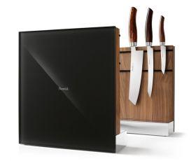 Nesmuk Messerhalter  Walnuss schwarz