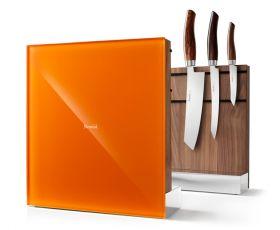 Nesmuk Messerhalter  Walnuss orange