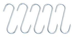 "Räucherhaken ""S""-Form | 5 Stück"
