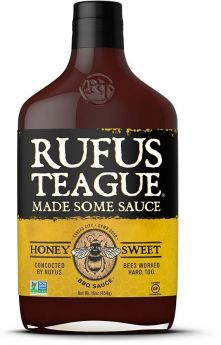 Rufus Teague | Honey Sweet BBQ Sauce | 454 g