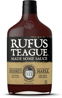 Rufus Teague | Whiskey Maple BBQ Sauce | 454 g