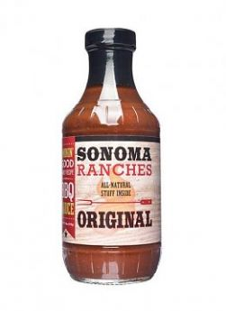 Sonoma Ranches BBQ Sauce Original 455ml