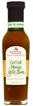 Stonewall Kitchen | Curried Mango Grille Sauce | 330 ml