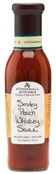 Stonewall Kitchen | Smokey Peach Whiskey Sauce | 330 ml