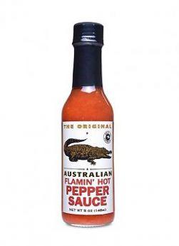 The Original Australian Flamin Hot Pepper Sauce 148ml