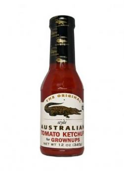 The Original Australian Tomato Ketchup for Grownups 355ml