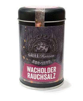 Wacholder Kohle Rauchsalz, 150g Streudose