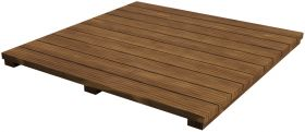 BGE Akazien Holzplatte für Erweiterungsgestell