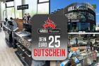 Geschenkgutschein Grillshop im Wert von 25,00 Euro