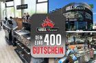 Geschenkgutschein Grillshop im Wert von 400,00 Euro