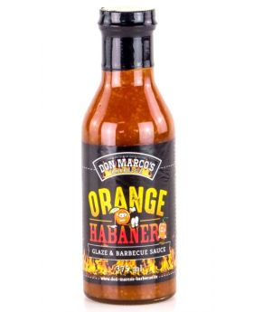 Don Marco's Orange Habanero Glaze & Barbecue Sauce 375ml Flasche