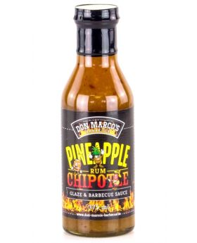 Don Marco's Pineapple Rum Chipotle Glaze & Barbecue Sauce 375ml Flasche