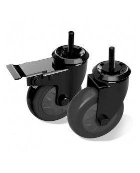 BGE Schwenkrollen Set für Modulküche (2 Stk.)