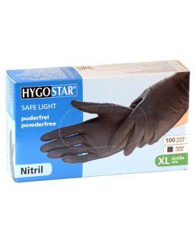 Einmal Handschuhe schwarz XL