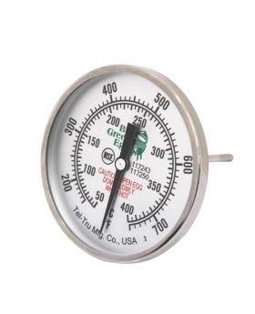 Big Green Egg Ersatz Thermometer für 2 Xl, XL und large Egg