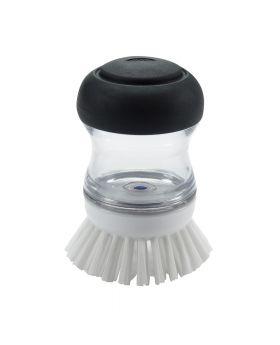 Oxo Handbürste mit Spülmittelspender