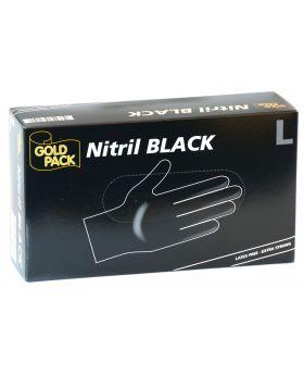 Einmal Handschuhe schwarz Large