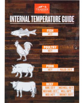 Traeger Temperatur Magnettafel