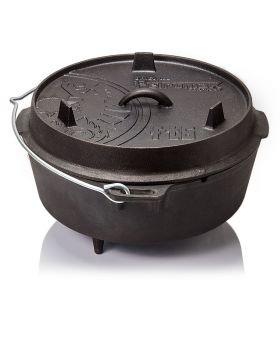 Petromax Feuertopf FT6 Dutch Oven mit Füßen