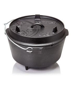 Petromax Feuertopf FT9 Dutch Oven mit Füßen